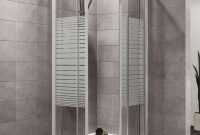 Plumbsure Square Shower Enclosure With White Frame Double Sliding within size 3270 X 3270