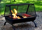 Portable Outdoor Fire Pit Grill Freephotoprinting Home Outdoor with regard to sizing 1000 X 1000