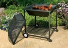 Portable Outdoor Fire Pit With Wheels Fireplace Design Ideas within proportions 1155 X 1155