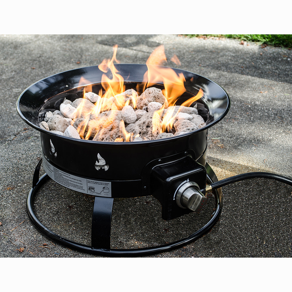 Portable Propane Outdoor Fire Pit Heininger 5995 Fire Pits inside sizing 1000 X 1000