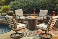 Predmore Round Fire Pit Table And 4 Swivel Chairs Woodstock inside size 1920 X 1281