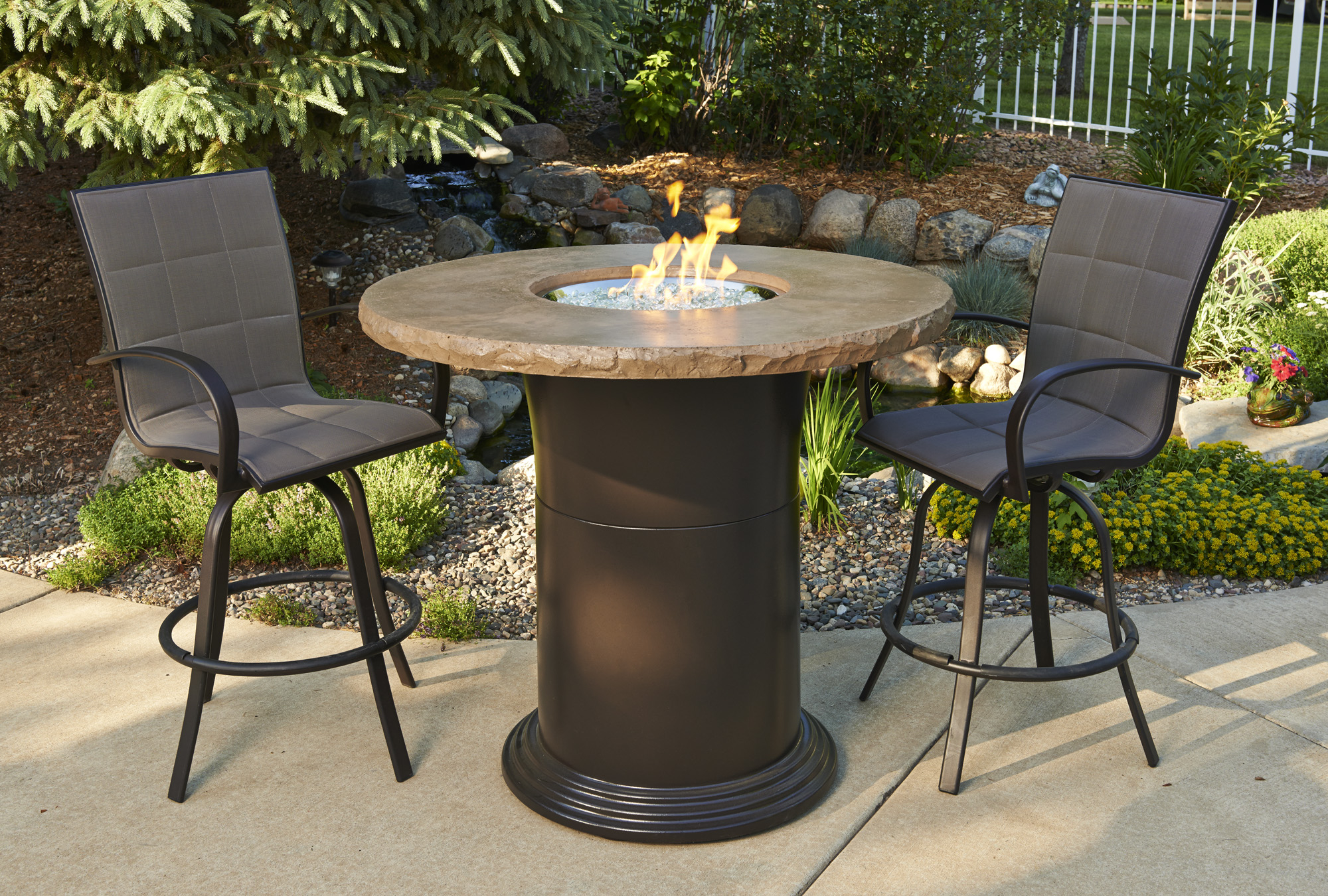 Pub Height Fire Pit Tables regarding size 2000 X 1350