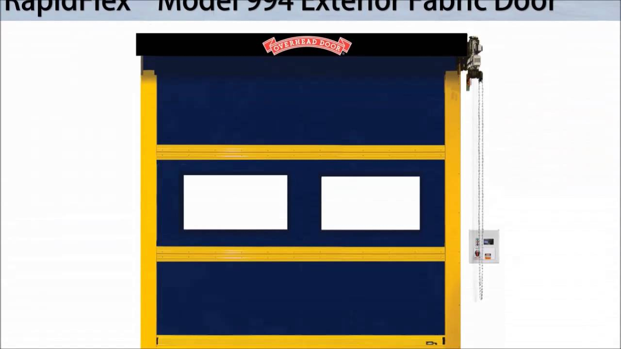 Rapidflex High Speed Doors Fabric And Rubber Doors From Overhead with regard to size 1280 X 720