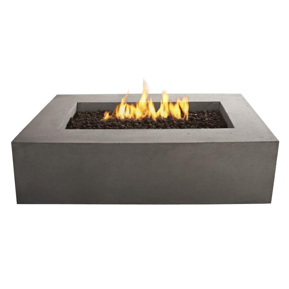 Real Flame Baltic 51 In Rectangle Natural Gas Outdoor Fire Pit In throughout measurements 1000 X 1000