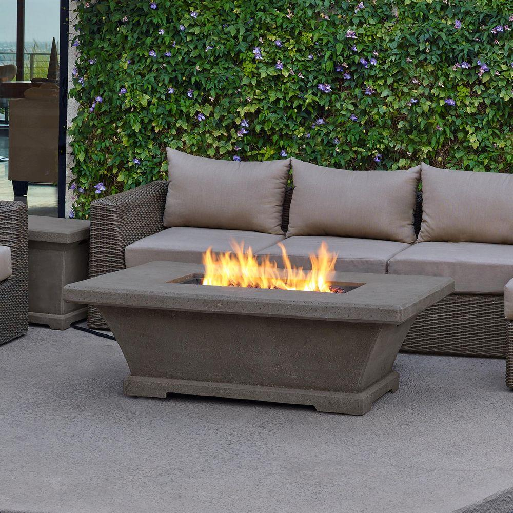 Real Flame Monaco 55 In Fiber Concret Rectangle Propane Gas Fire intended for measurements 1000 X 1000