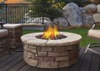 Real Flame Sedona 43 In X 17 In Round Fiber Concrete Propane Fire regarding sizing 1000 X 1000
