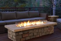 Real Flame Sedona 66 In X 19 In Rectangle Fiber Concrete Propane with regard to measurements 1000 X 1000