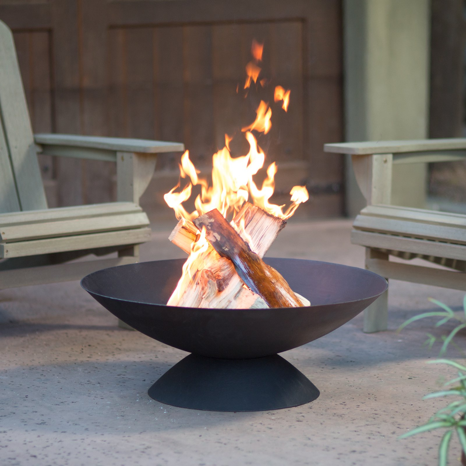Red Ember Basin 30 In Cast Iron Fire Pit Walmart within size 1600 X 1600