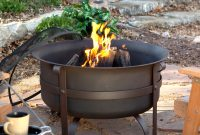 Red Ember Brockton Steel Cauldron Fire Pit With Free Cover Hayneedle pertaining to sizing 3200 X 3200
