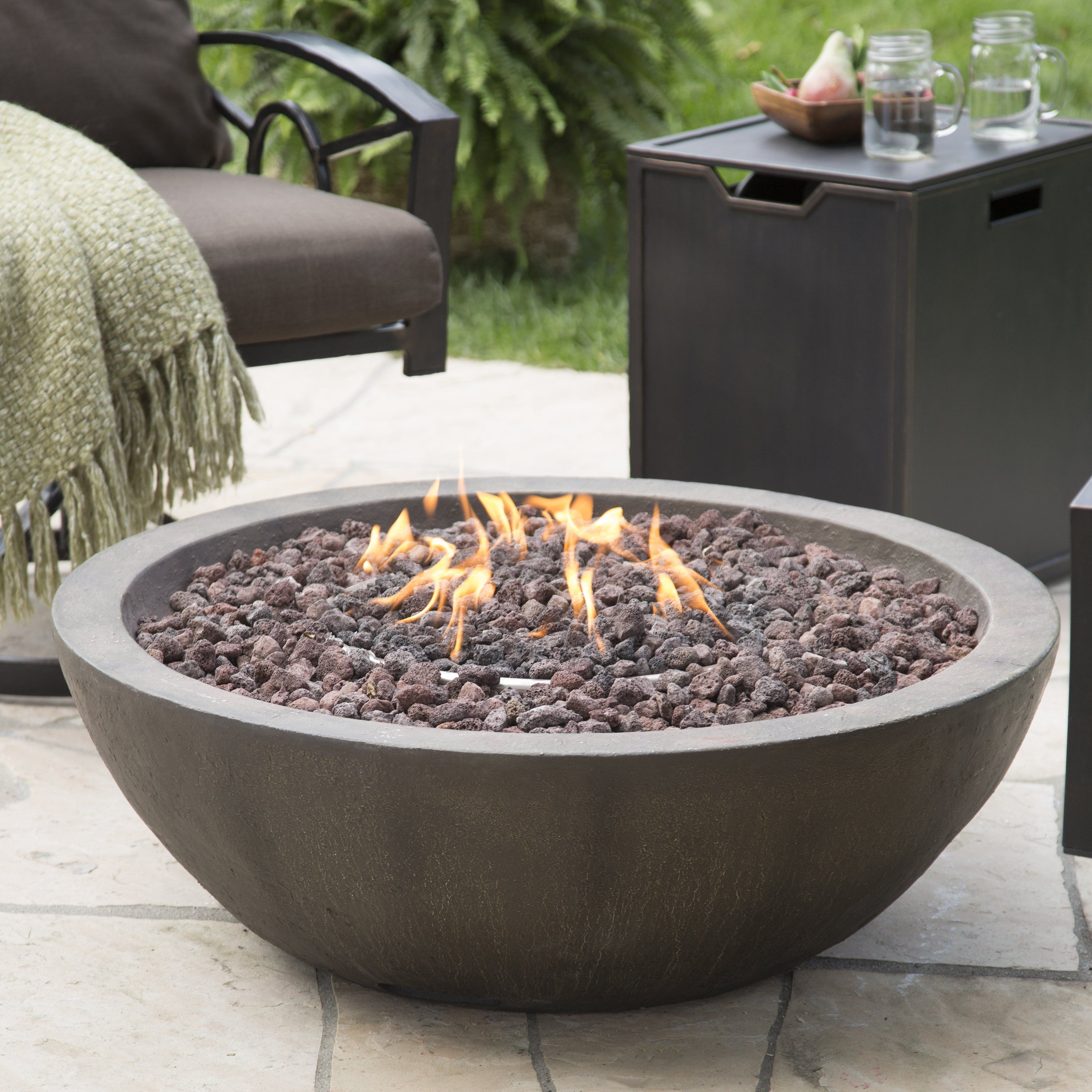 Red Ember Tucson 36 Diam Fire Bowl Garden And Landscape Outdoor with regard to size 3200 X 3200