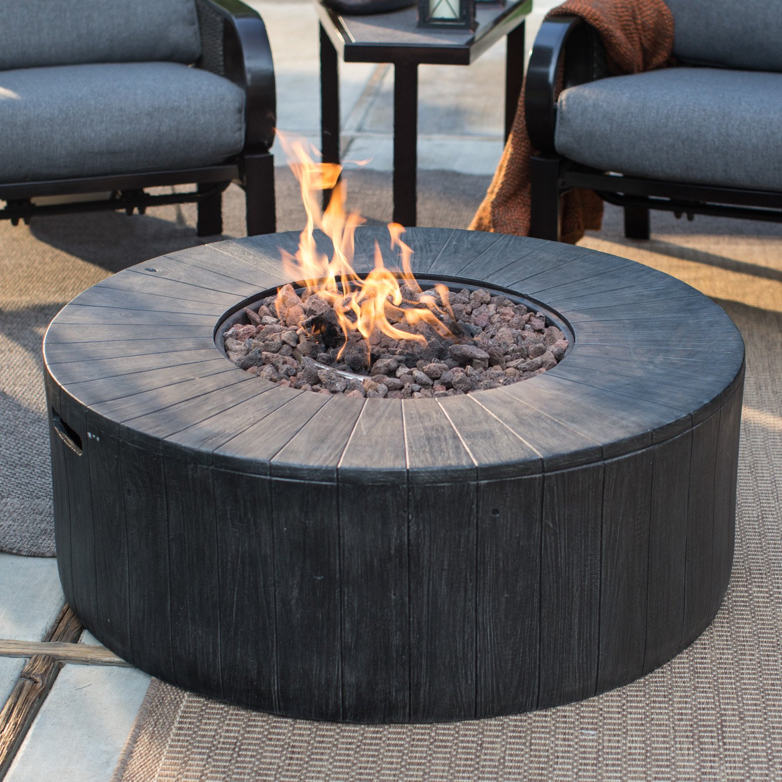 Red Ember Whitehall 40 Diam Fire Pit Walmart throughout sizing 1600 X 1600
