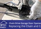 Replacing The Chain And Cable Assembly On A Chain Drive Garage Door intended for measurements 1280 X 720