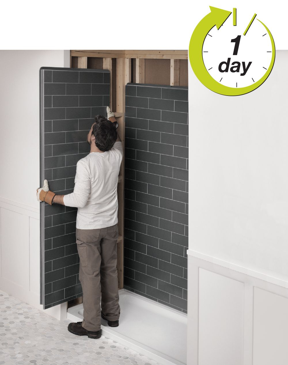 Revolutionary Shower Bathroom Remodel Look Like Tiles Maax Hwy within sizing 1000 X 1268