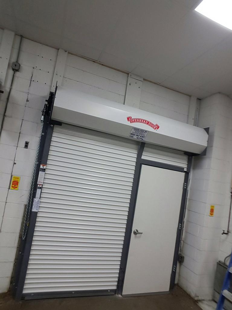 Roll Down Door With Man Door for sizing 768 X 1024