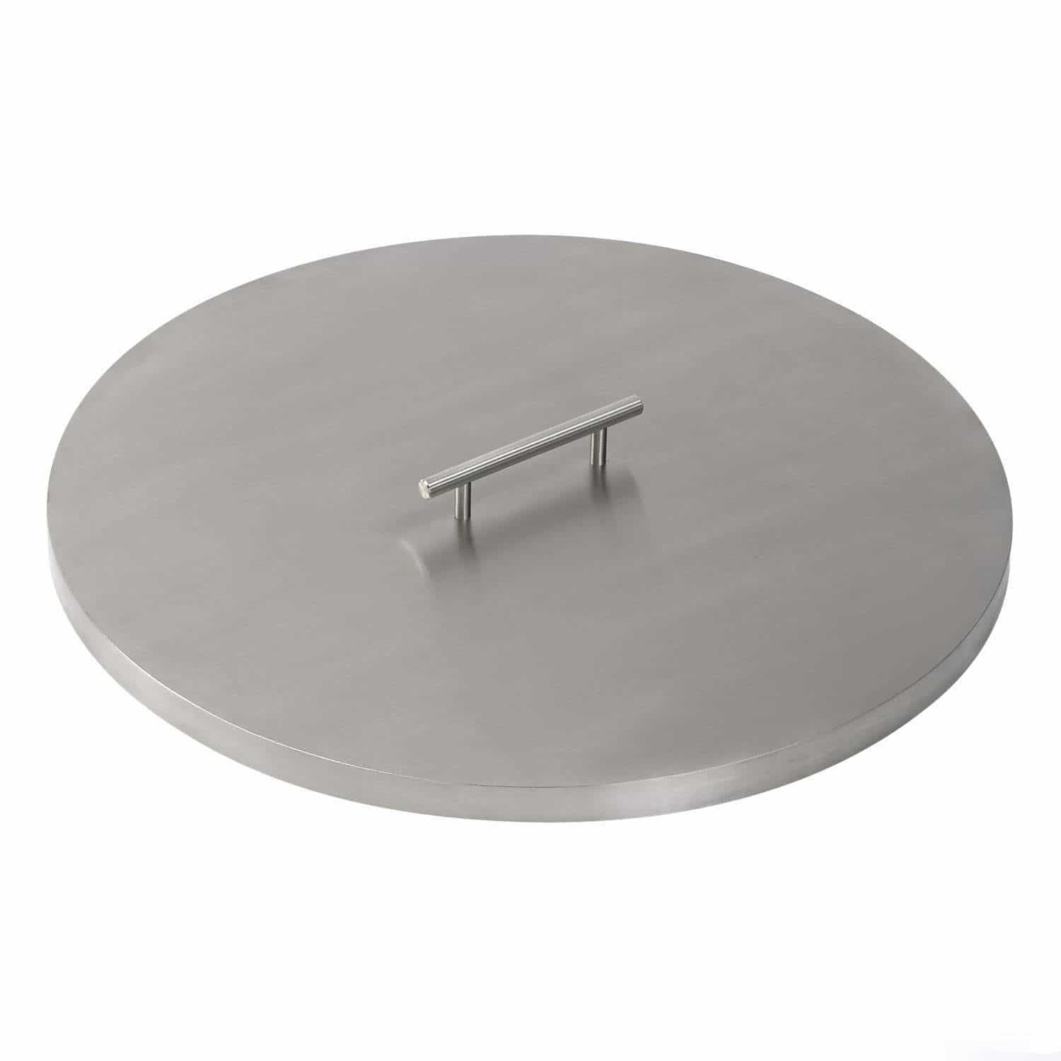 Round Fire Pit Pan Cover Stainless Steel Ams Fireplace Inc with regard to size 1500 X 1500