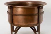 Rustic Copper Fire Pit In Outdoor Living Collections Fireside At intended for proportions 1223 X 1223