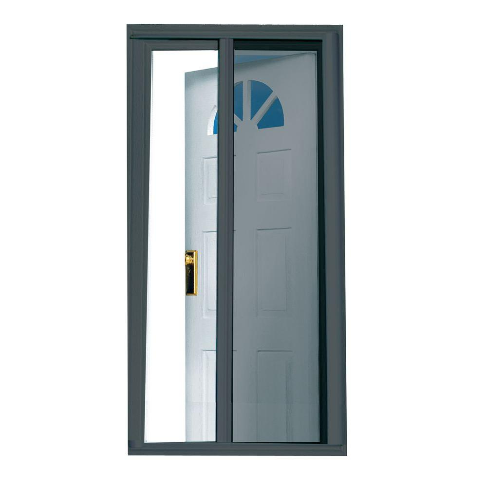 Seasonguard 40 In X 975 In Charcoal Retractable Screen Door K throughout dimensions 1000 X 1000