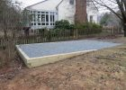 Shed Foundation Gravel Shed Pad Woodplans Shed Base Backyard inside measurements 4288 X 3216