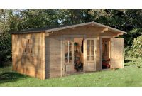 Shedswarehouse Hanbury Log Cabins 45m X 35m Log Cabin With inside dimensions 1024 X 1024