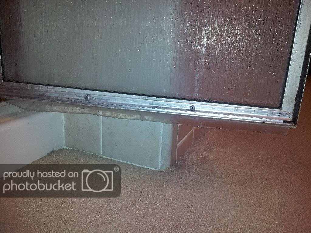Shower Door Seal Leaking Doityourself Community Forums with regard to size 1024 X 768