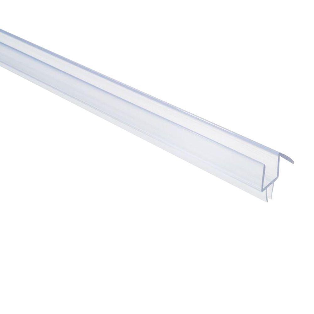 Showerdoordirect 36 In Frameless Shower Door Bottom Sweep With Drip within proportions 1000 X 1000
