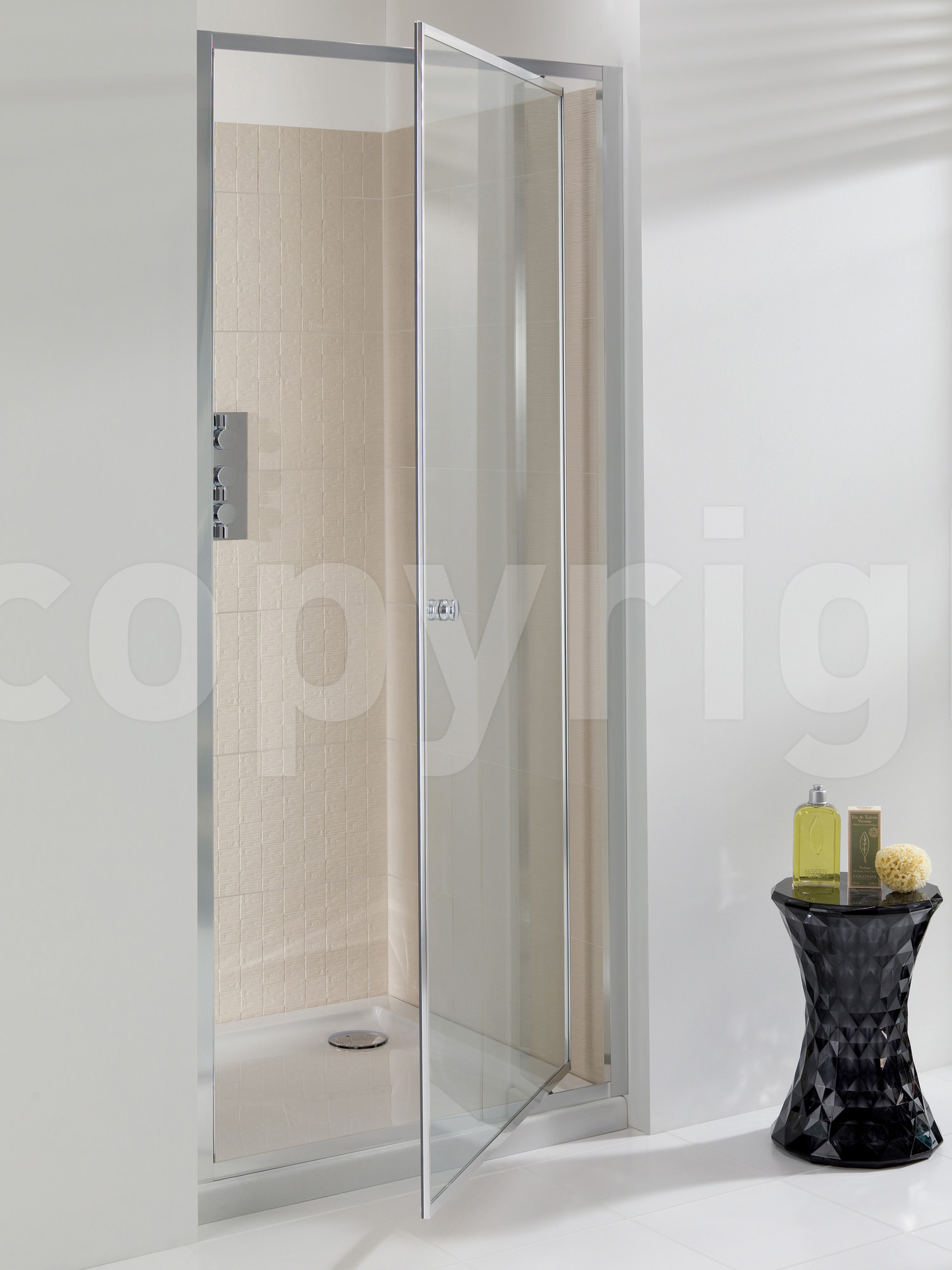 Simpsons Edge Pivot Shower Door 1000mm Epdsc1000 for dimensions 1500 X 2000