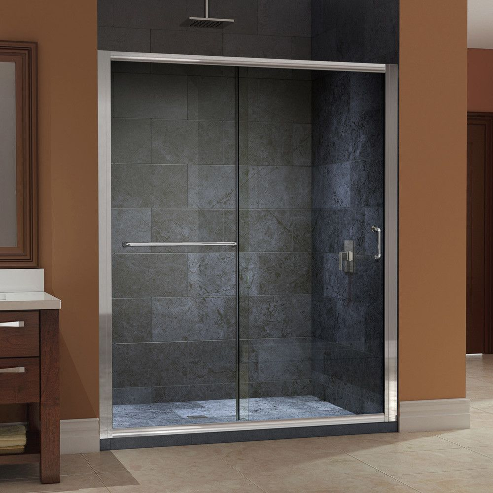 Sliding Shower Doors Without Bottom Track Jacuzzi Tubs with proportions 1000 X 1000