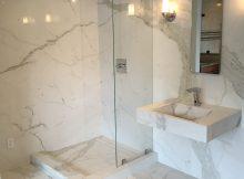Slim Slab Porcelian Shower Walls Verona Showers Dc Metro intended for measurements 2448 X 3095