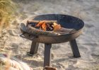 Small Steel Fire Pit The Blue Door throughout size 1500 X 1500