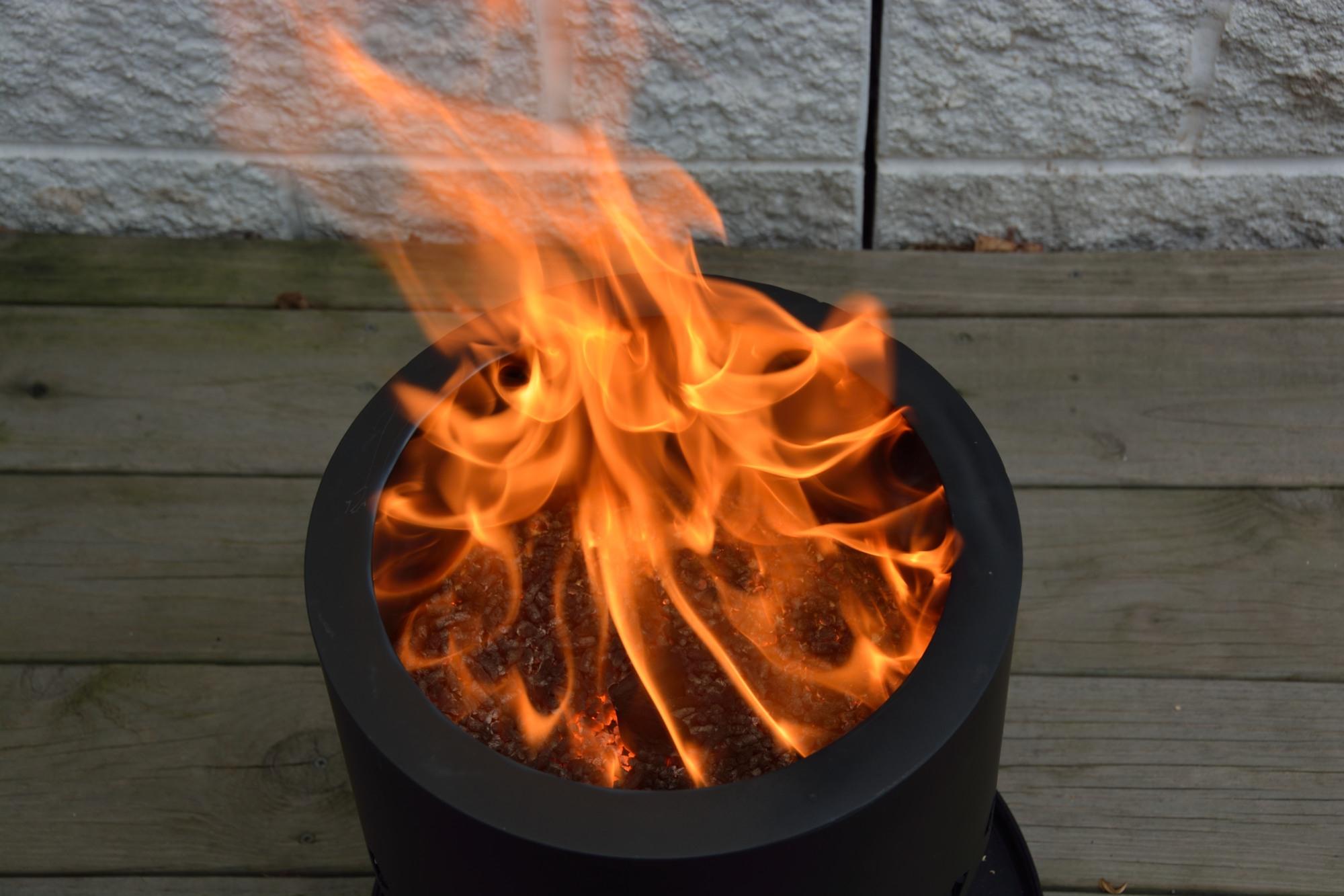 Smokeless Wood Pellet Fire Pit Pellet Fire Pit in measurements 2000 X 1333