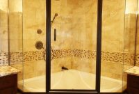 Soaking Tub Shower Combo With Glass Shower Enclosure Combination for dimensions 1027 X 1540