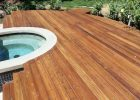 Solid Stained Redwood Deck Cal Preserving intended for size 1024 X 768
