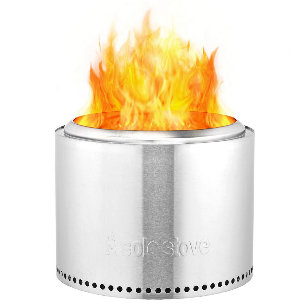 Solo Stove Bonfire 195 In X 14 In Stainless Steel Wood Backyard with regard to dimensions 1000 X 1000