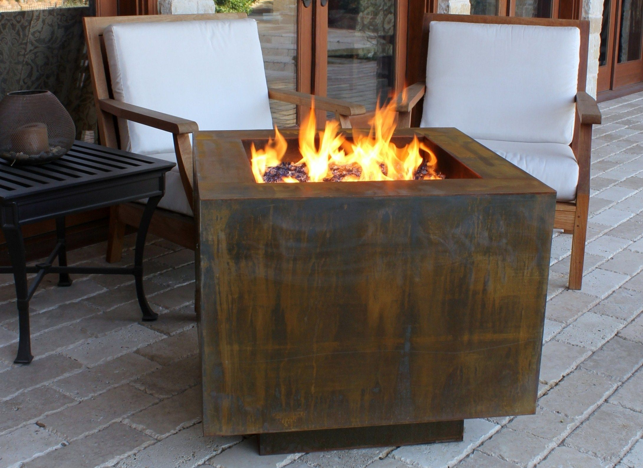 Square Hidden Propane Tank Fire Pit All About The Modern Fire throughout dimensions 2181 X 1587