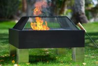Square Metal Fire Pit Insert Firepit regarding proportions 3200 X 3200