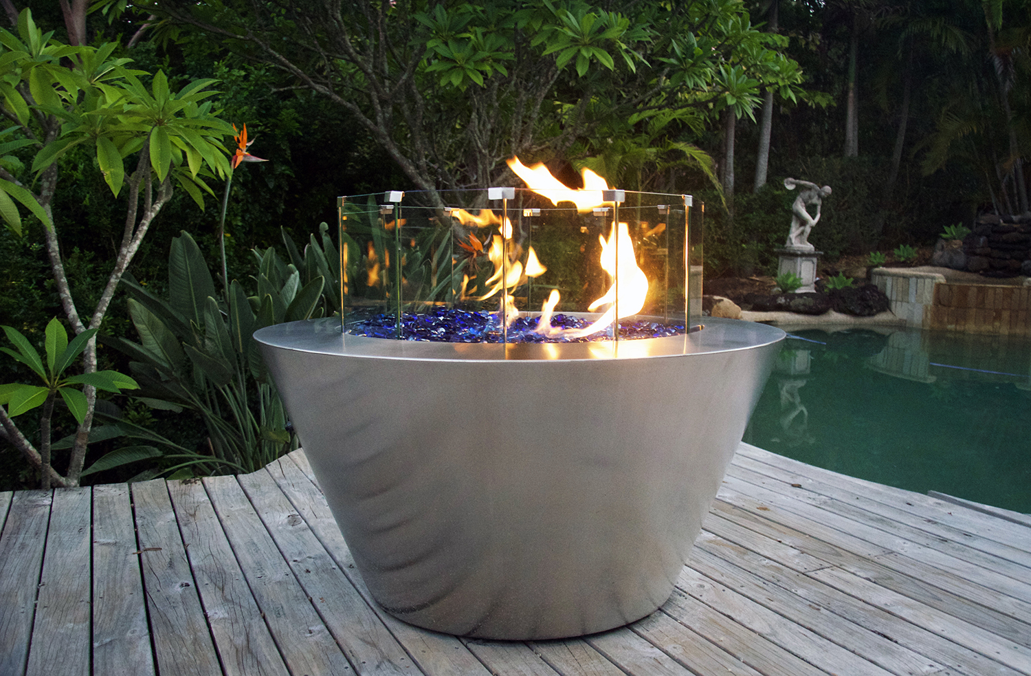 Stainless Steel Fire Pit Southern Stainless with proportions 1500 X 983
