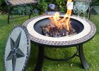 Stargazer Mosaic Fire Pit Table with regard to measurements 1000 X 1000