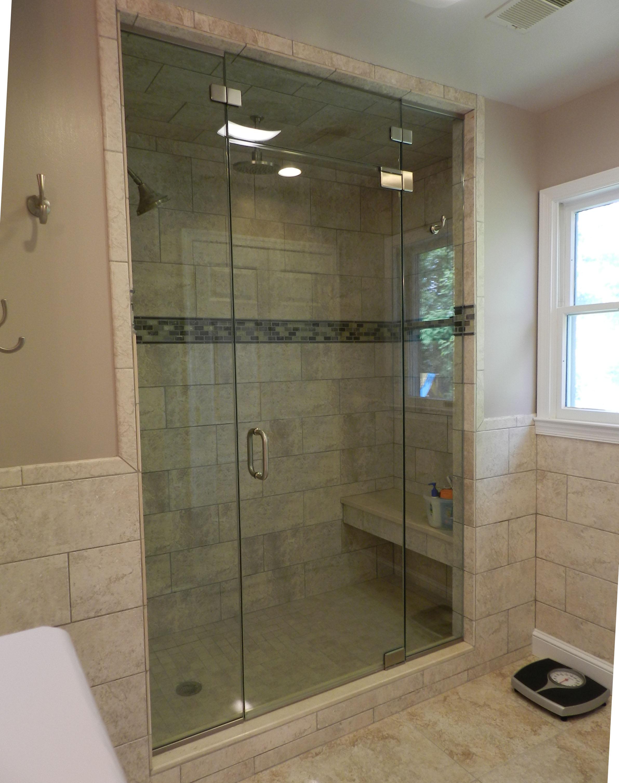 Steam Shower Doors Frameless Shower Doors Glass Panel Lenox Nouveau in proportions 2383 X 3014
