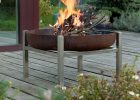 Steel Crate Fire Pit Arpe Studio Uk Notonthehighstreet for dimensions 897 X 900