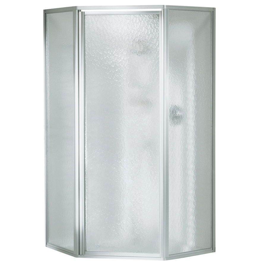 Sterling Economy Silver Shower Wall Surround One Piece Common 38 throughout proportions 900 X 900