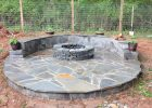 Stone Veneer Fire Pit Patio 11 Steps With Pictures throughout sizing 1024 X 768