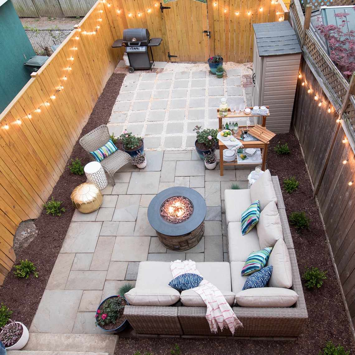 Stunning Inspiring Outdoor Fire Pit Areas The Happy Housie pertaining to proportions 1140 X 1140