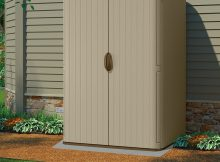Suncast 5x4 Conniston Three Plastic Garden Shed with proportions 1400 X 1371