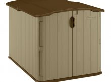 Suncast Glidetop 6 Ft 8 In X 4 Ft 10 In Resin Storage Shed regarding sizing 1000 X 1000