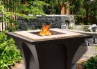 Sunjoy Revel Aluminumsteel Wood Burning Fire Pit Table Wayfair inside measurements 1000 X 1000