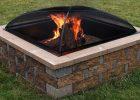 Sunnydaze 30 Inch Heavy Duty Steel Square Mesh Fire Pit Spark Screen regarding measurements 1000 X 1000