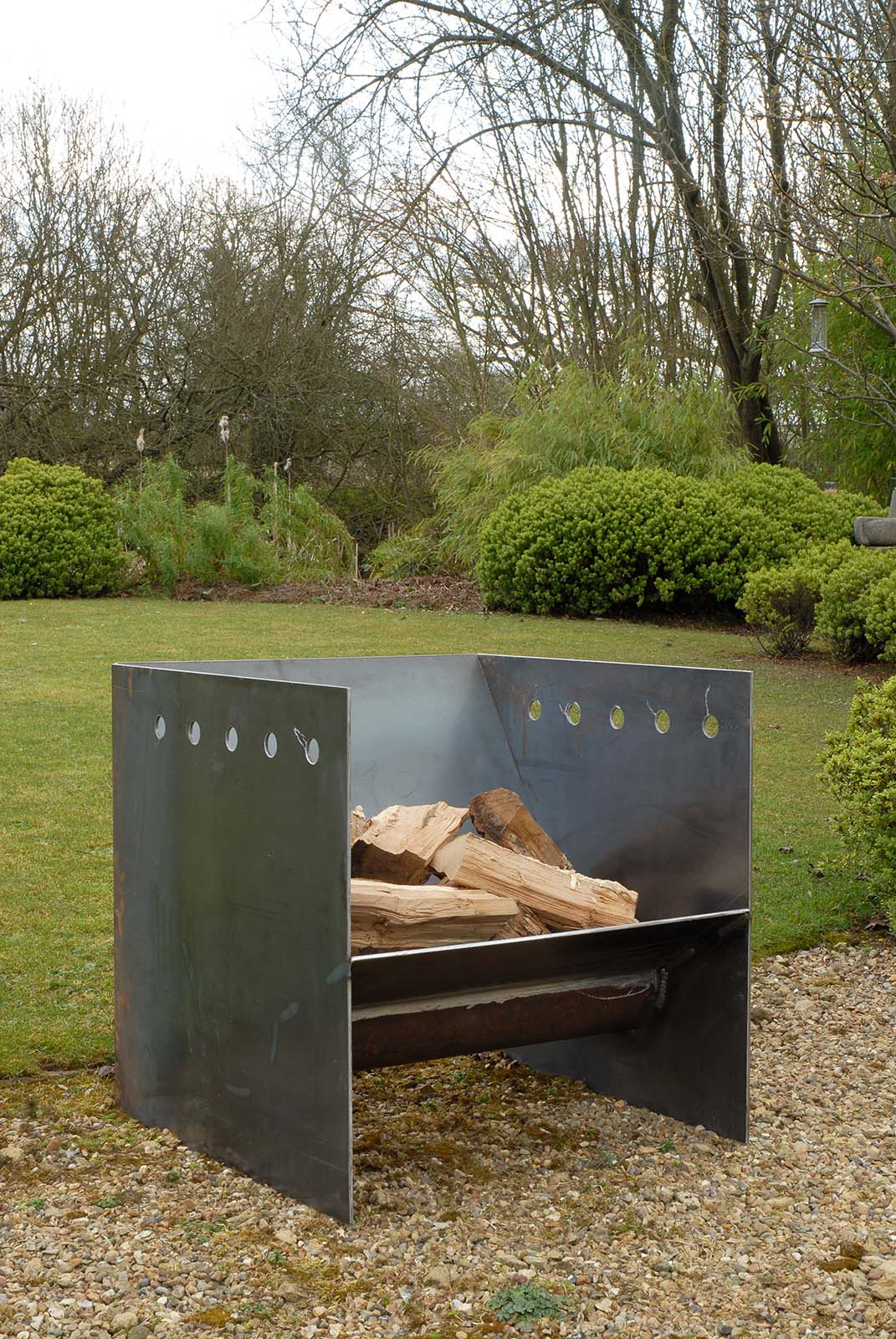 Superchunk Fire Pit A Handsome And Robust Fire Pit Made From 5mm with proportions 1071 X 1600