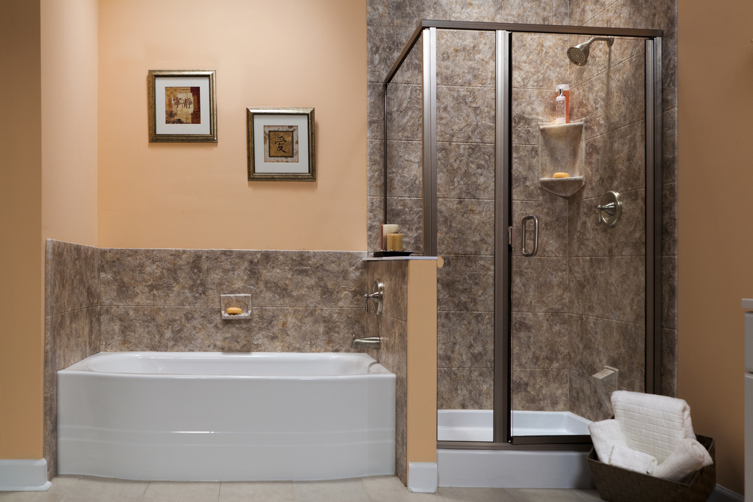 Sure Fit Bath Kitchen Premium Acrylic Seamed Seamless Wall pertaining to dimensions 1475 X 983