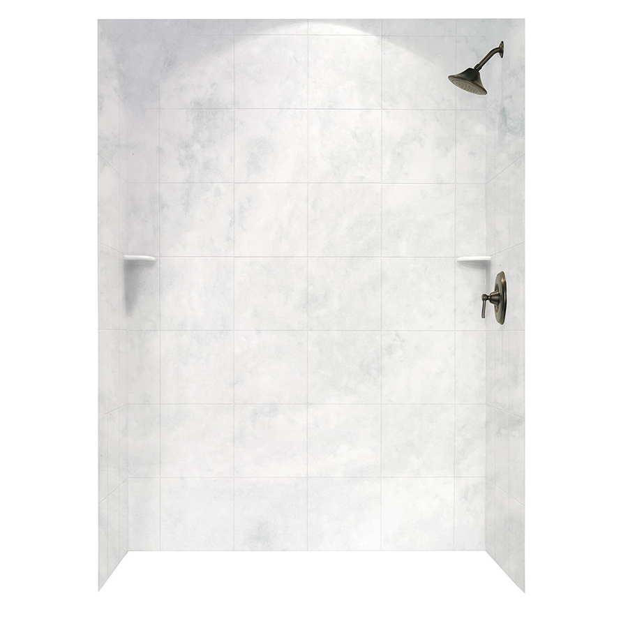 Swan Ice Shower Wall Surround Panel Kit Common 62 In X 36 In with regard to measurements 900 X 900