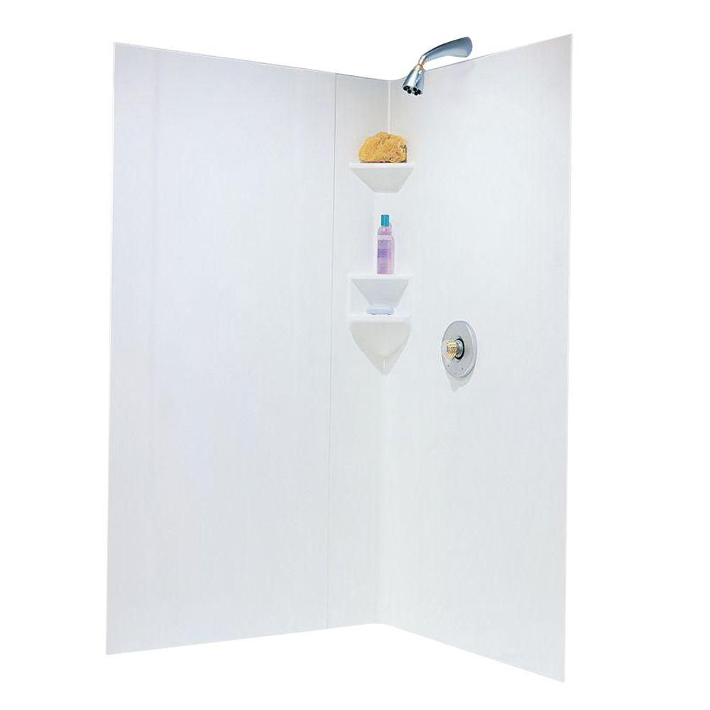 Swan Neo Angle 38 In X 38 In X 70 In 3 Piece Easy Up Adhesive with size 1000 X 1000